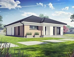 wizualizacje 3d białystok, dom jednorodzinny