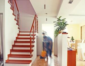 projekt wnętrz, architektura, korytarz