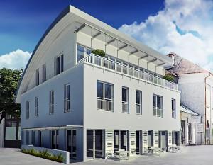 architektura białystok, hotel z restauracją