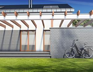 architektura białystok, projekt domu jednorodzinnego