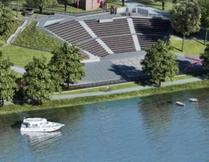 wizualizacje 3d amfiteatr
