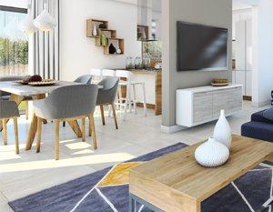 Wizualizacje 3d | Wizualizacje wnętrz domu jednorodzinnego