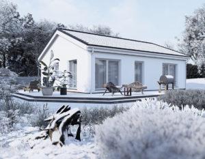 wizualizacje 3d białystok | widok zimą