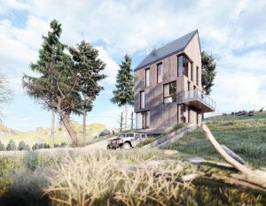 Wizualizacje 3d | Nowoczesna architektura