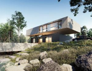 wizualizacje 3d | dom jednorodzinny | architektura