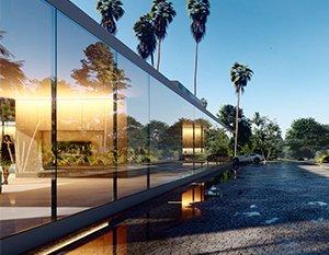 Wizualizacje 3d | Tropical house
