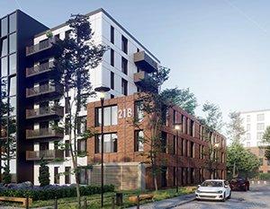 Nowoczesny kompleks mieszkaniowy | wizualizacje 3d