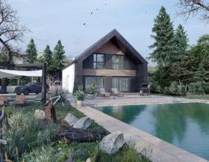 wizualizacje 3d białystok | domy jednorodzinne