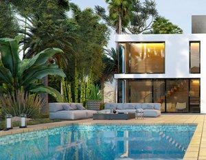 Wizualizacje 3d | Palm Hill House