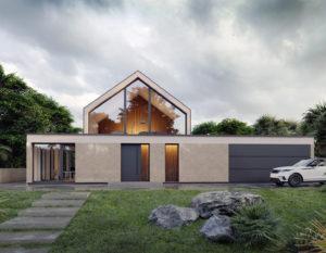 wizualizacje 3d   architektura   minimalizm