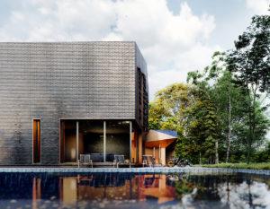 wizualizacje 3d białystok | nowoczesny dom | minimalizm