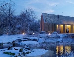 wizualizacje 3d   bialystok   dom z drewna