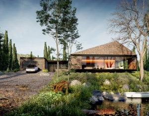 dom z cegły | wizualizacje 3d bialystok