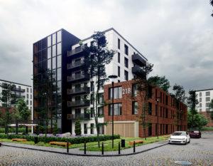 nowoczesna mieszkaniówka | wizualizacje 3d | Białystok